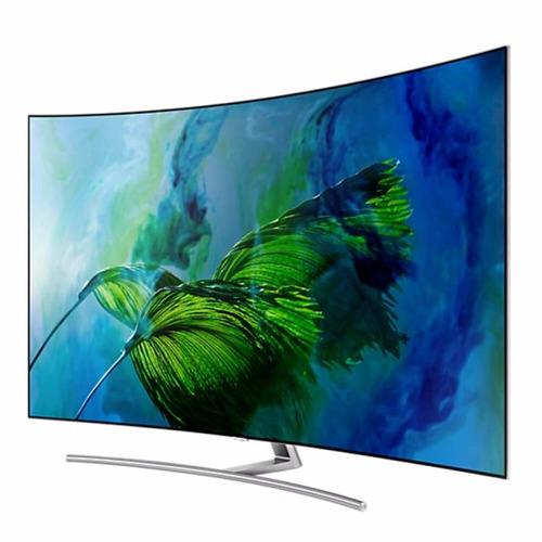 smart tv curve qled samsung 65  qn65q8camgxzd q8c 4k uhd hd