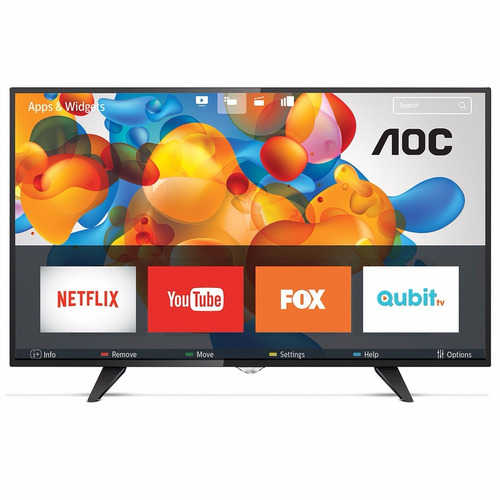 smart tv full hd aoc 50 mod. le50s5970 wi fi netflix