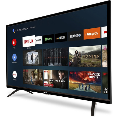 smart tv hd 32 rca xc32sm android tv google assistant wifi