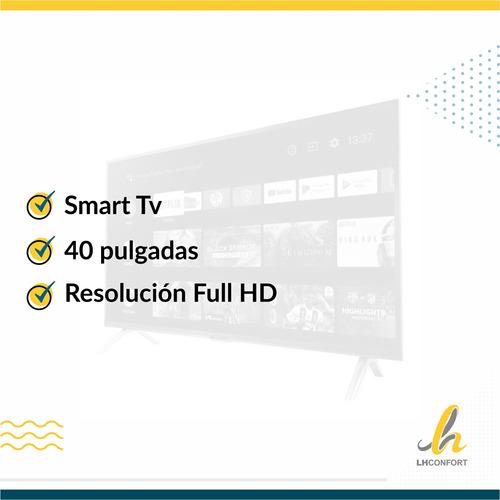 smart tv hitachi le40smart17 40p full hd netflix lhcuotas