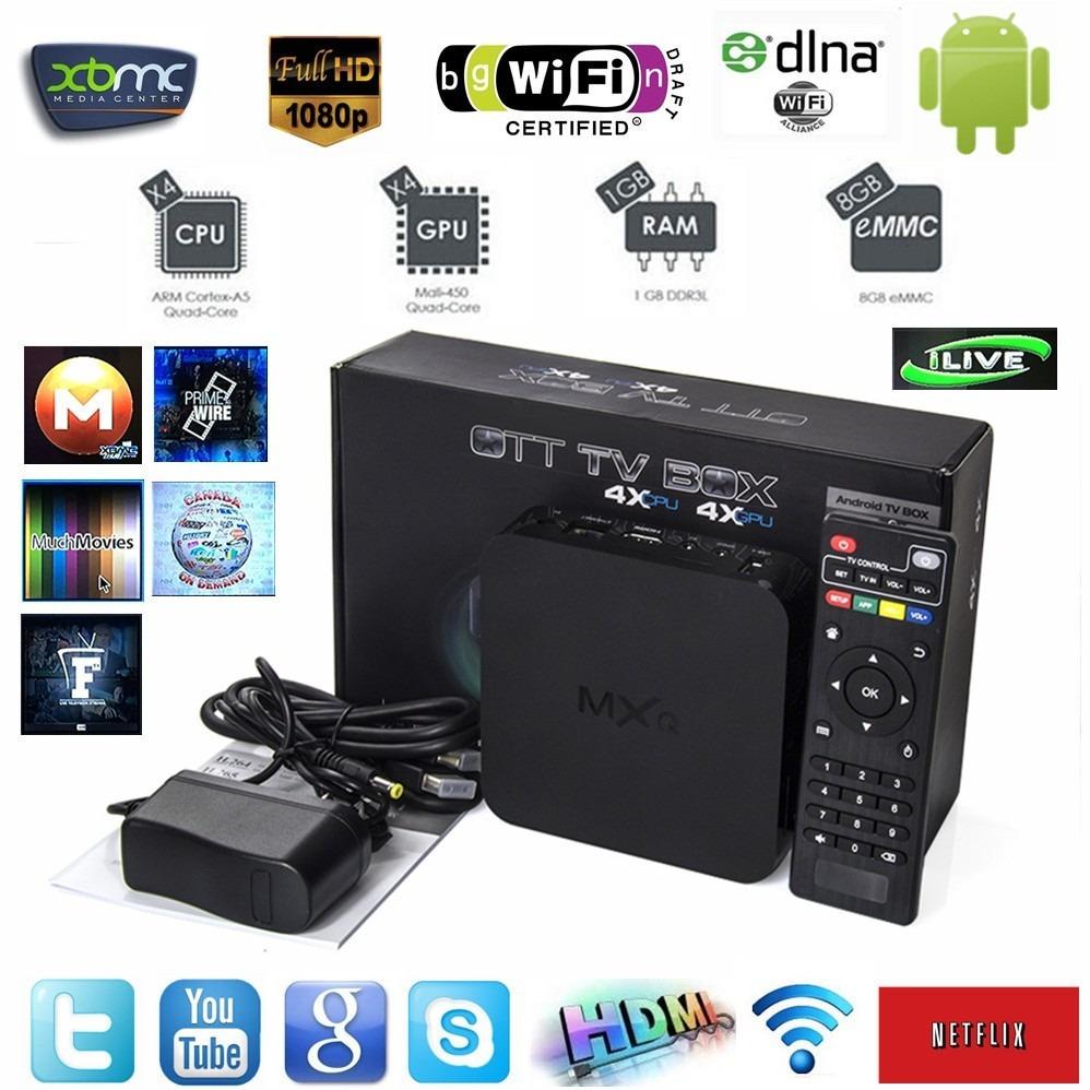 smart tv iptv mxq 4k wifi aproveite r 358 80 em. Black Bedroom Furniture Sets. Home Design Ideas
