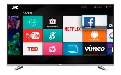 smart tv jvc 43'' full hd nuevo garantía 1 año techcel