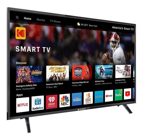 smart tv kodak 43  fhd nueva garantia 6 cuotas s/int netflix
