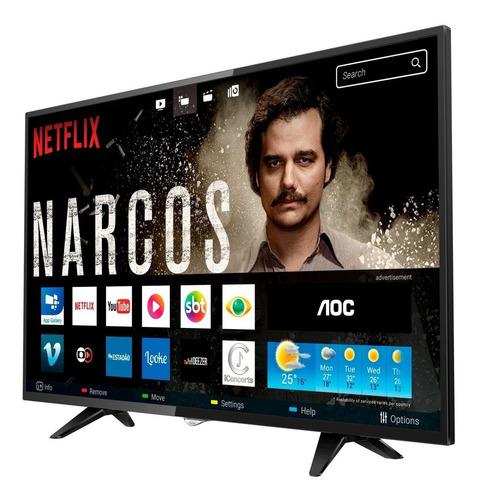 smart tv led 32 aoc le32s5970s 2 hdmi 1 usb wifi