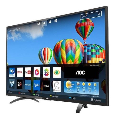 smart tv led 32  aoc le32s5970s, hd, wi-fi, 2 usb, 3 hdmi