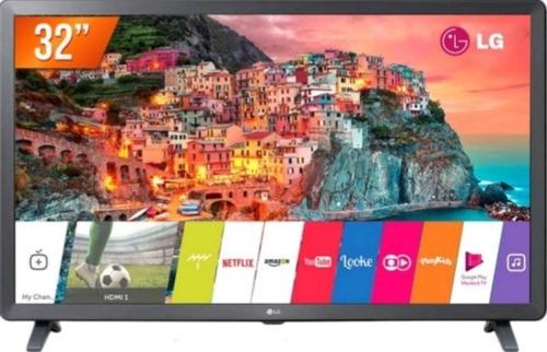 smart tv led 32 hd lg 32 hdmi 2 usb wi-fi e converso digital