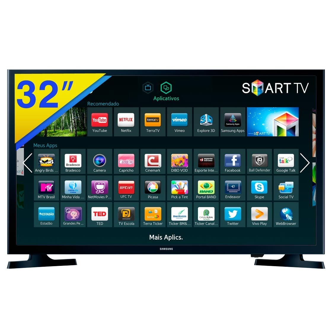 Smart Tv Led 32 Hd Samsung 32j4300 *sem Nota Fiscal