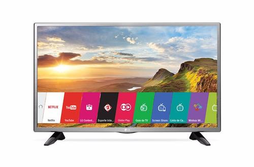 smart tv led 32'' lg 32lh570b hd com conversor digital