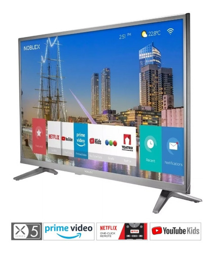 smart tv led 32 noblex dj32x5000 netflix hdmi led usb 12c