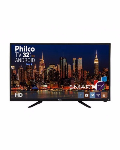08d04f9ea4d Smart Tv Led 32 Ph32b51dsgwa Hd Android - Philco - R  1.594