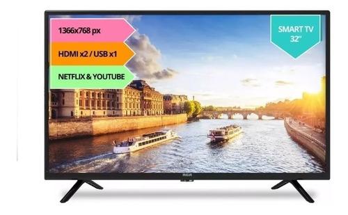 smart tv led 32 rca android tv control voice netflix
