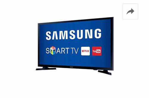 smart tv led 32  samsung 32j4300 hd com conversor digital