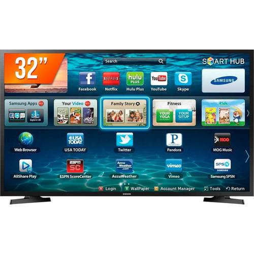 smart tv led 32 samsung hd - wi-fi -2hdmi - 1usb lh32benelga