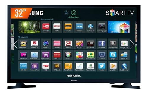 smart tv led 32  samsung hd wi-fi integrado un32j4300agxzd