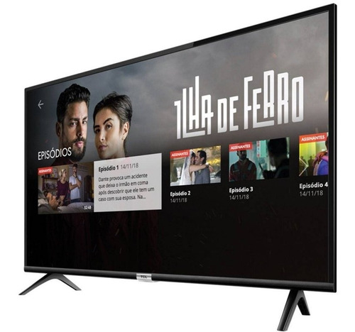 smart tv led 32  tcl hd hdr com wi-fi bluetooth usb hdmi