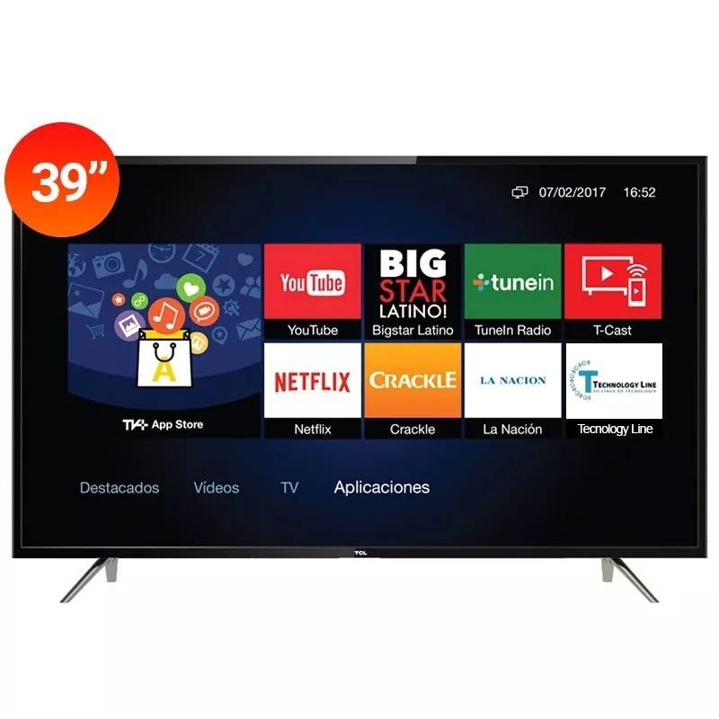 26e3305caaf46 smart tv led 39 pulgadas tcl full hd wi-fi netflix garantia. Cargando zoom.