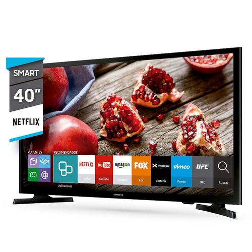 smart tv led 40  fhd samsung un40j5200dgczb