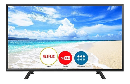 smart tv led 40  panasonic tc-40fs600b full hd