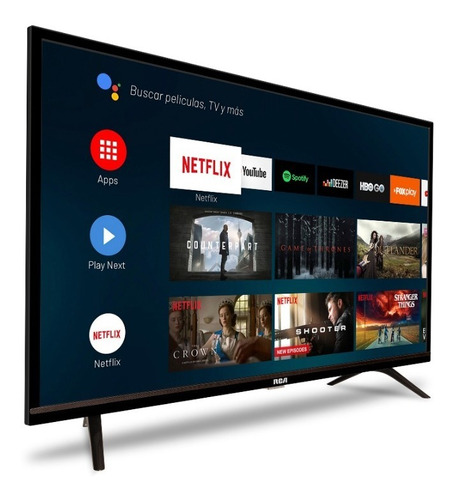 smart tv led 40 rca android xc40sm ahora 12 y 18