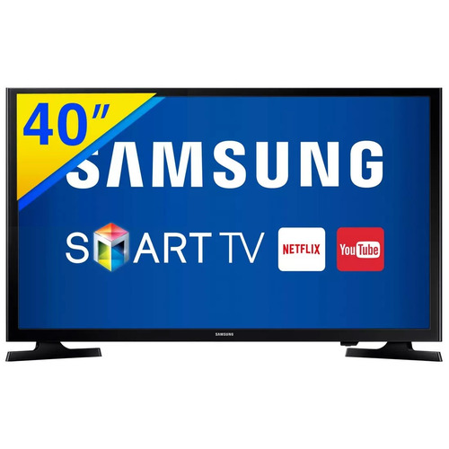 smart tv led 40 samsung full hd - un40j5200agxzd
