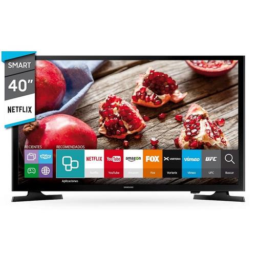 smart tv led 40 samsung un40j5200 full hd netflix tio musa
