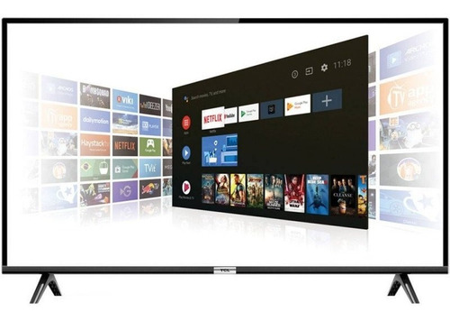 smart tv led 40  tcl full hd hdr com android tv wi-fi bluet