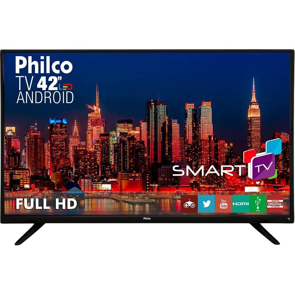 c7f9941d7 smart tv led 42 philco ph42f10dsgwa full hd. Carregando zoom.