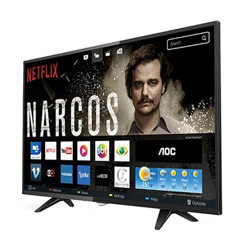 smart tv led 43 aoc le43s5970 full hd 2 usb, 3 hdmi