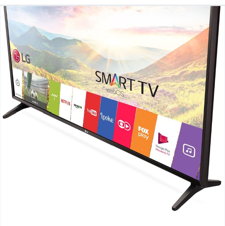 42f3a2de0de5d Smart Tv Led 43 Lg 43 Lj 5550 Ful Hd Com Painel Ips - R  1.250