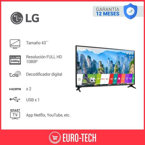 smart tv led 43 lg full hd 1080p webos netflix wifi 43lk5700