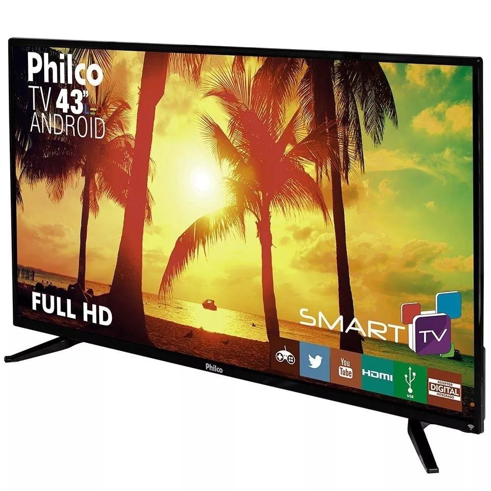 3457194da934e smart tv led 43 philco full hd conversor dnr. Carregando zoom.