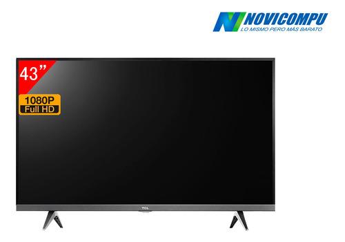 smart tv led 43  tcl smart, usb, full hd 7t10914