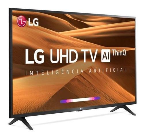smart tv led 43  uhd 4k lg 43um7300psa thinq ai hdr ativo w
