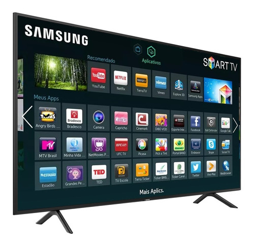 smart tv led 43'' ultra hd 4k samsung nu7100 hdmi usb wi-fi