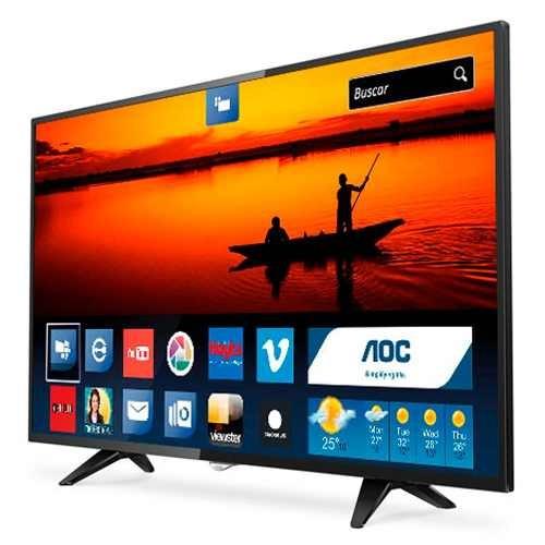 smart tv led 49 aoc le49s5970/28 netflix youtube usb hdmi
