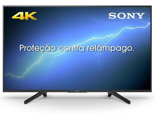smart tv led 49 sony, 4k uhd, 4 hdmi, 3 usb, wi-fi integrado