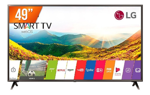 smart tv led 49'' ultra hd 4k lg 49uk6310 hdmi usb wi-fi