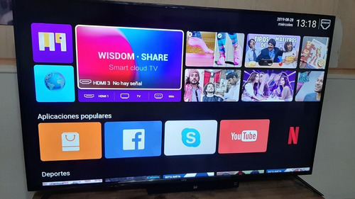 Smart Tv Led 4k 60 Netflix Y Yout Kanji Android Urgte viaje - $ 39 000,00
