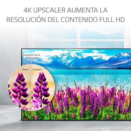 smart tv led 4k lg 75 uj6580 ultra hd ips hdr 10 + camiseta