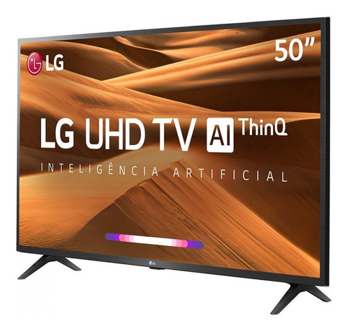 smart tv led 50 lg 50um7360psa ultra hd/4k wi-fi conversor