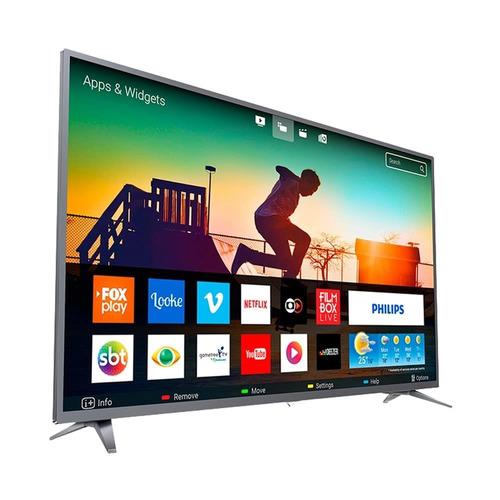 smart tv led 50  philips 50pug6513/78 4k uhd wi-fi e 60hz