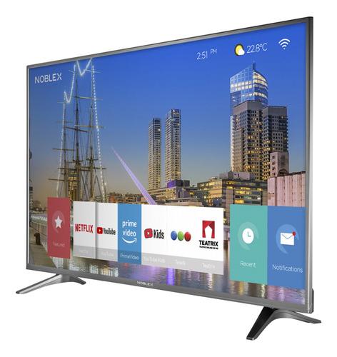 smart tv led 50'' ultra hd 4k noblex dj50x6500 4605
