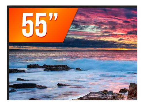 smart tv led 55'' 4k panasonic tc-55fx600b 3 hdmi 2 usb wifi