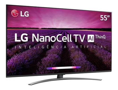 smart tv led 55 lg 55sm8100psa super ultra hd/4k 4 hdmi 3 us