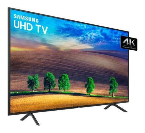 smart tv led 55  uhd 4k samsung nu7100 visual livre de cabo