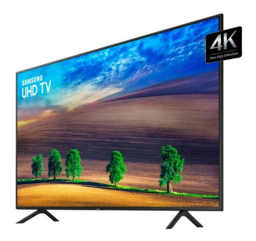 smart tv led 55  uhd 4k samsung nu7100 visual livre de cabo