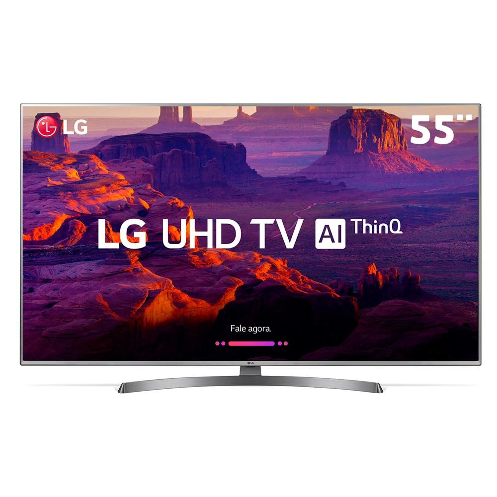 df38e78de Smart Tv Led 55 Ultra Hd 4k Lg 55uk6540psb Wifi Hdmi Usb - R  3.718 ...