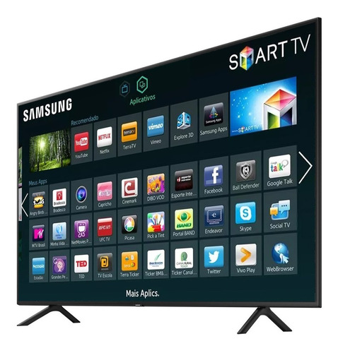 smart tv led 55'' ultra hd 4k samsung nu7100 hdmi usb wi-fi