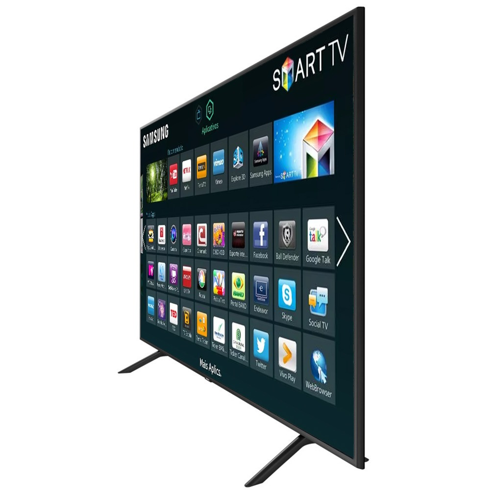 44fdaa44d smart tv led 55   ultra hd 4k samsung nu7100 hdmi usb wi-fi. Carregando zoom .