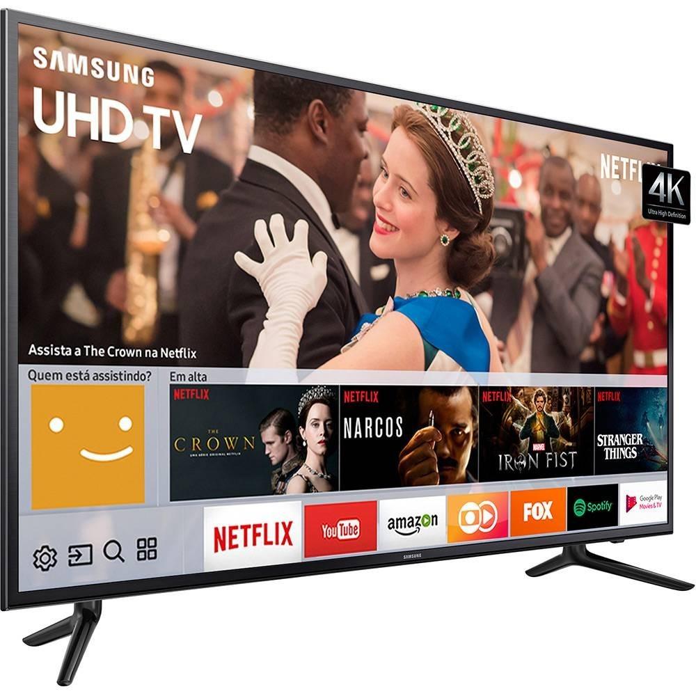 380d7eb2e smart tv led 58 polegadas samsung 58mu6120 ultra hd 4k. Carregando zoom.